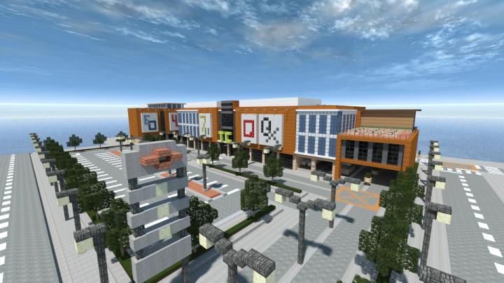 Trinoma Central Shopping Center Mall Minecraft Map