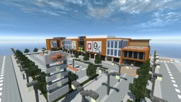 Trinoma Central [Shopping Center] [Mall] Minecraft Map & Project