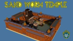 Sand-Worm Temple Minecraft Project