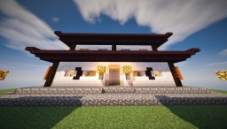 Y China House Minecraft Map & Project