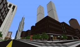 New York World Trade Center Minecraft Project
