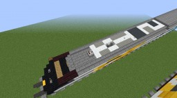 Brightline BrightBlue Trainset (Open Hatch) Minecraft Map & Project