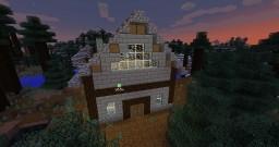 Petite maison en modé 1.11.2 Minecraft Map & Project