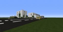 Gare moderne / Modern Station Minecraft Map & Project