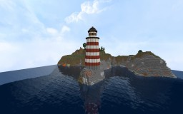 Lighthouse with Rotating Light! Minecraft Map & Project