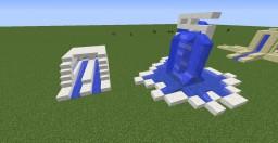 6 Fountain Designs Minecraft Project
