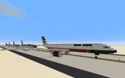Boeing 757-200 + FIVE LIVERIES Minecraft Project