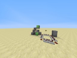 Auto-slime cannon Minecraft Project