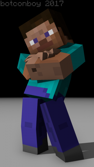 Minecraft Blender Rig Template Pack Minecraft Project