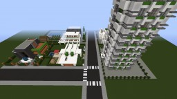 MODERN BUILD WORLD ! [WIP] Design Inspirations ! Minecraft Map & Project