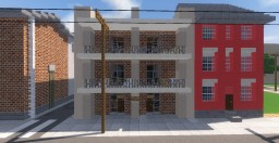 Rusty Apartments I HCP Minecraft Project