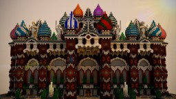 Artistry Palace. Minecraft Project