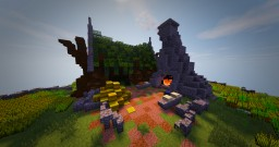 Wood Elven Bakery Tuturial Minecraft Map & Project