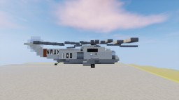 Sikorsky SH-3 Sea King U.S. NAVY 1,5:1 Minecraft Map & Project