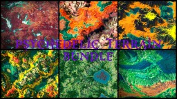 Psychedelic Terrain Bundle Minecraft Map & Project