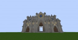 Medieval Cathedral Minecraft Map & Project