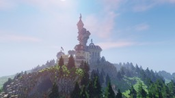 Misty castle - Aurelien_Sama building contest Minecraft Project