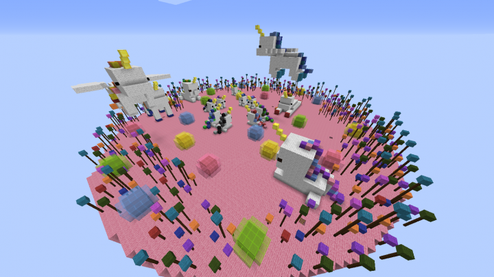 Unicorn Fantasy Island: A Map Made For PopularMMOs and