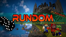 Rundom [1.11.2] : A multiplayer parkour map based on random features ! Minecraft