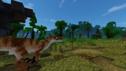 Jurassic Park Velociraptor Enclosure Minecraft Map & Project