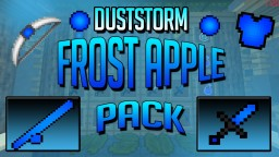 DustStorm Frost Apple PvP Texture Pack 16x16 (FPS++)