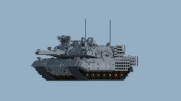 10:1 scale leopard2a4 SG Minecraft