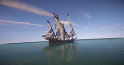 El Maricelia | Merchant's Xebec (ShipSide) Minecraft Map & Project