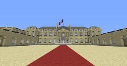 -Le Palais de L'Elysée- /-The Elysee Palace-  Work In Progress Minecraft Map & Project