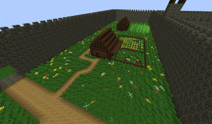 A small little farmhouse with a nice pasture in Sector One.