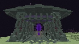 End Temple/spawn Minecraft Map & Project