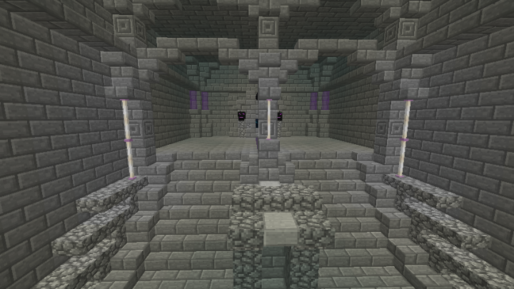 Secondary Area that takes players to the Ender dragon fight