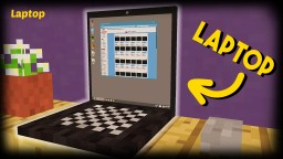 Minecraft - How To Make A Laptop