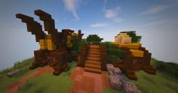 Wood Elven Aviary Tutorial Minecraft Project