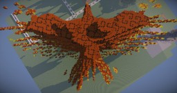 {30 minutes challenge} Fire Eagle Minecraft Map & Project