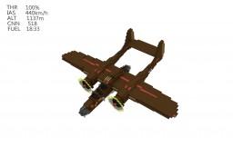 Northrop P-61 Black Widow (4:1) Minecraft Project
