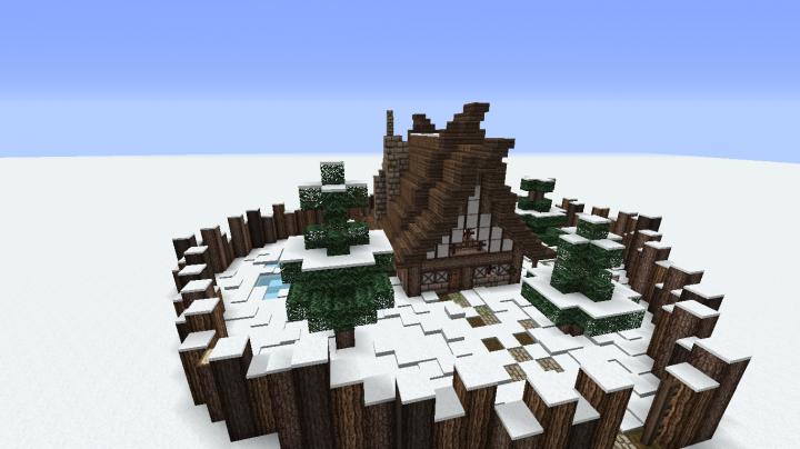 Viking House Minecraft Map