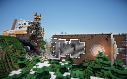 Cruise ship wreck Minecraft