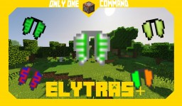 Elytras+ | Command Block Creation Minecraft Map & Project
