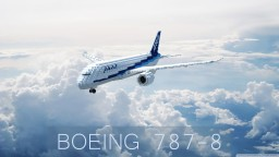 A really bad Boeing 787-8 Minecraft Map & Project