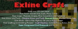[1.12.2] Exline Craft (adds more than 100 new items and 4 new mobs!) Minecraft Mod