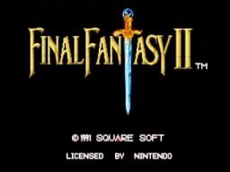 Final Fantasy 4 - Adventure Map