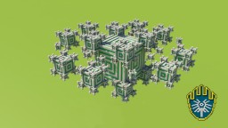 Fractal Wars / SkyWars Map Minecraft Project