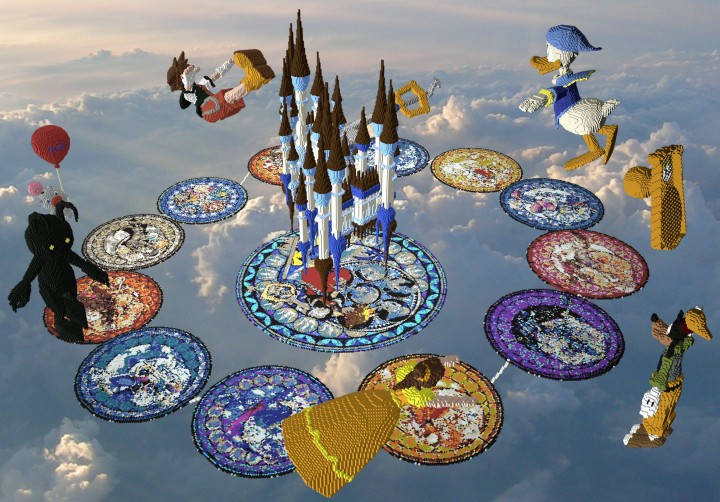 Skyblock Kingdom Hearts Minecraft Map