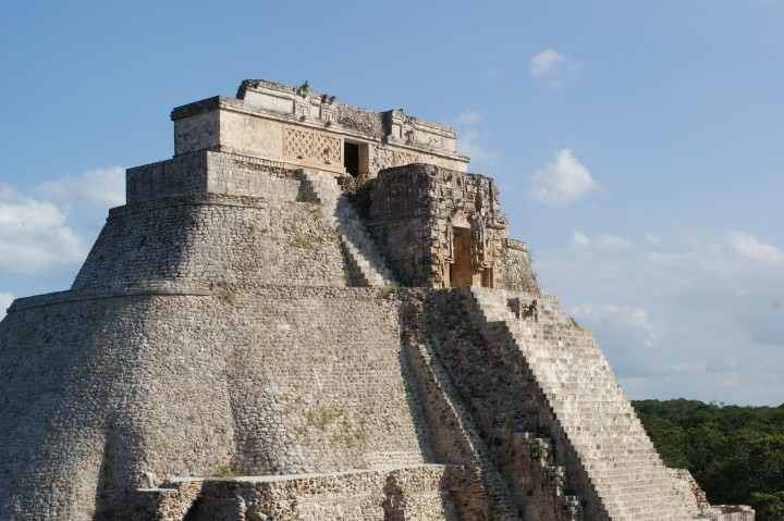 Pyramid of the Magician as it stands today