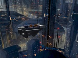 Coruscant Air Taxi STAR WARS Minecraft