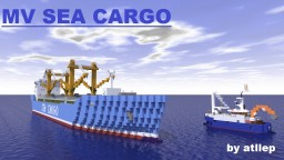 MV Sea Cargo - General Cargo Ship [Full Interior]