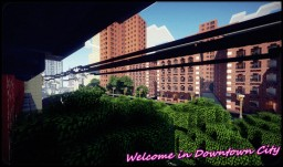 Downtown City Minecraft Project