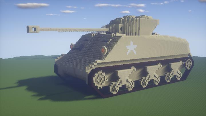 USA M4 TANK Minecraft Project