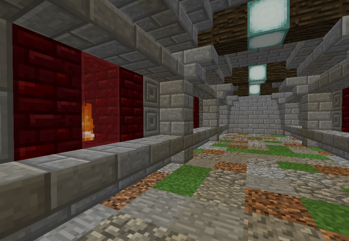 The fire passage of spawn.