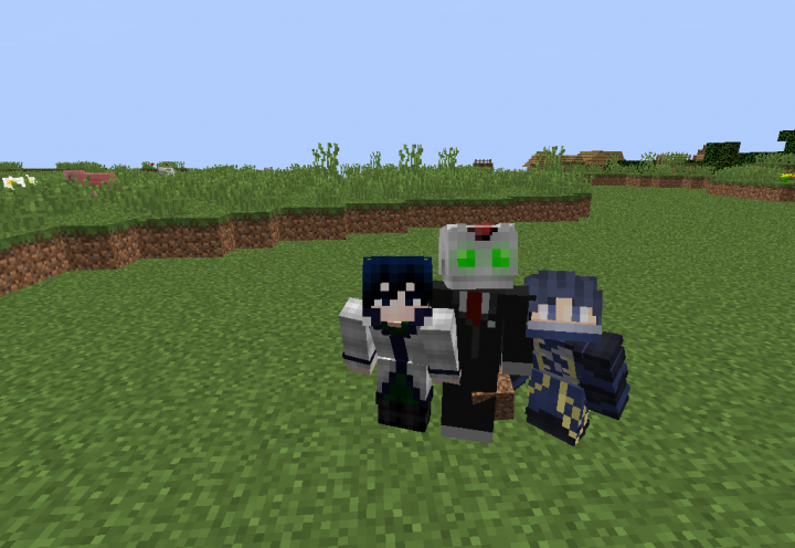 from left to right mudkip45, Roboman244, and Xenon.